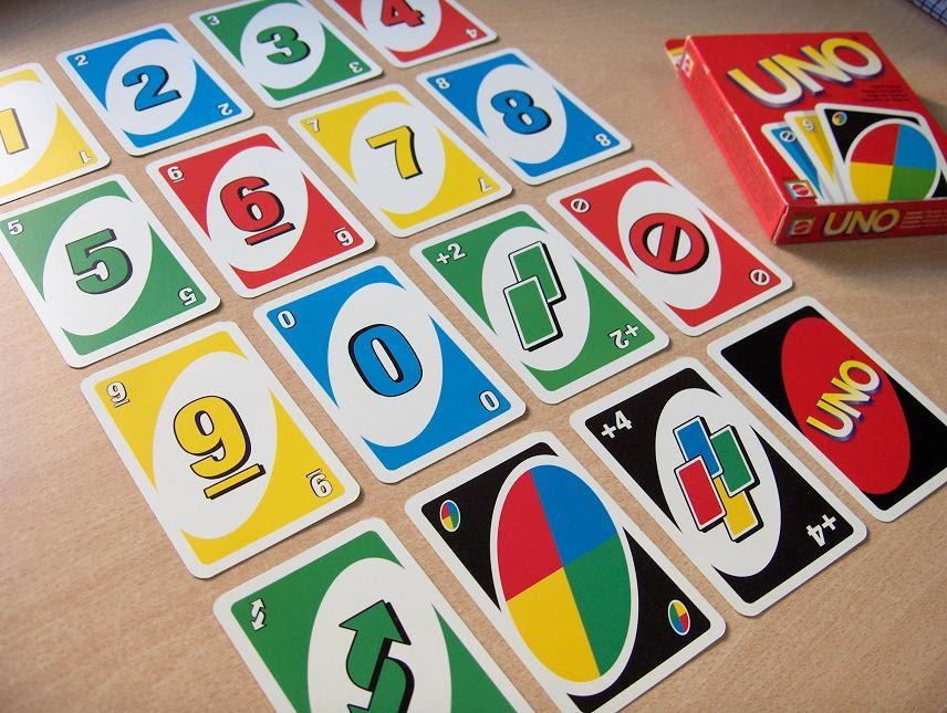 Giới thiệu về các lá bài trong uno
