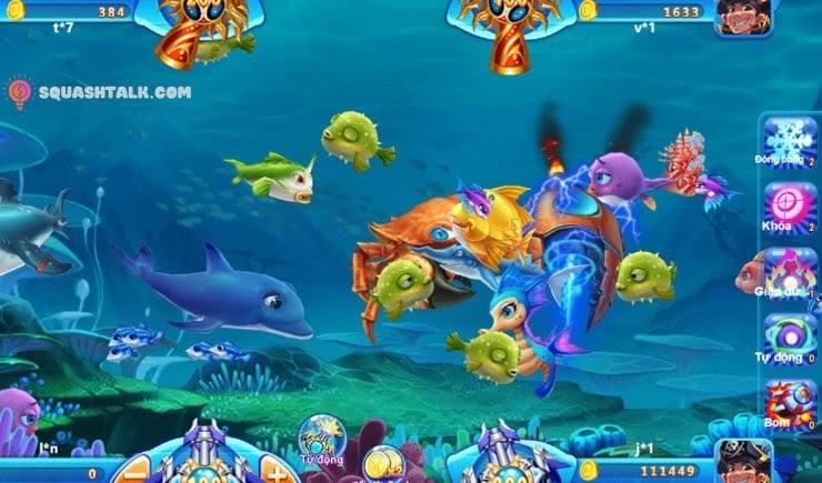 Tắt đi tính năng bắn tự động trong game bắn cá ăn xu đổi thưởng