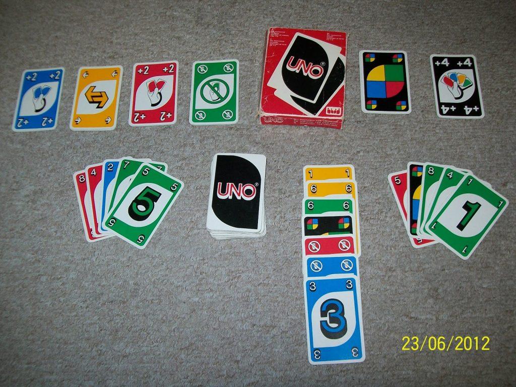 Cách chơi uno